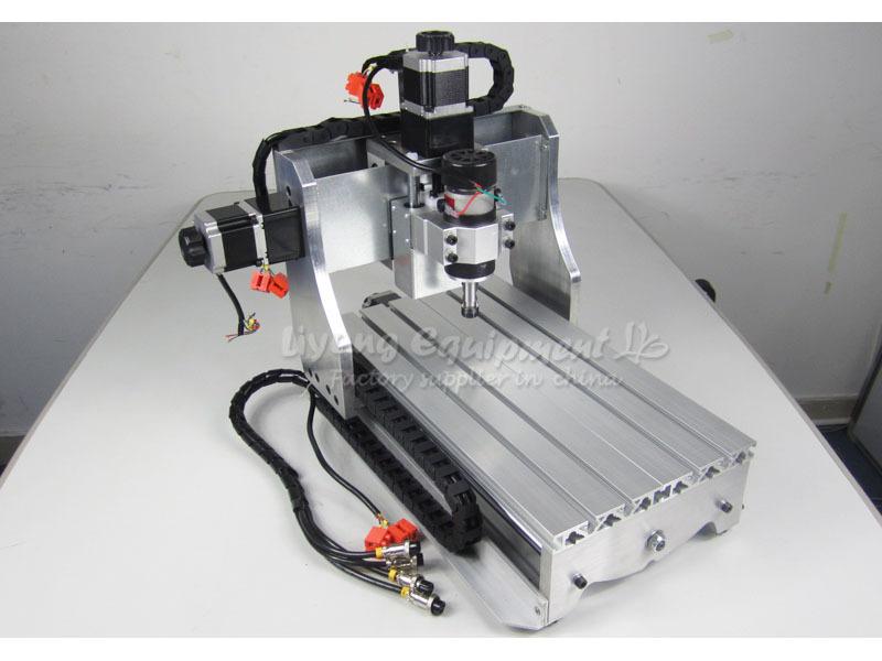 CNC Mini Desktop Engraving Machine 2030 Drilling Milling Carving Router work PCB Wood