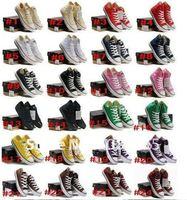 Женская обувь для скейтбординга hot canvas shoes 13 cloros/ All black