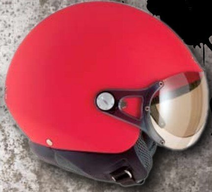 AD-901L ECE approved cheap half helmet scooter helmet with leather surface