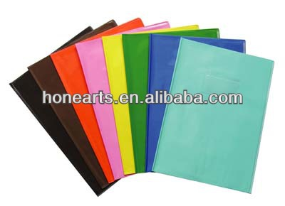 Plastic book cover for protection,colorful plastic book cover,160-220mic book cover