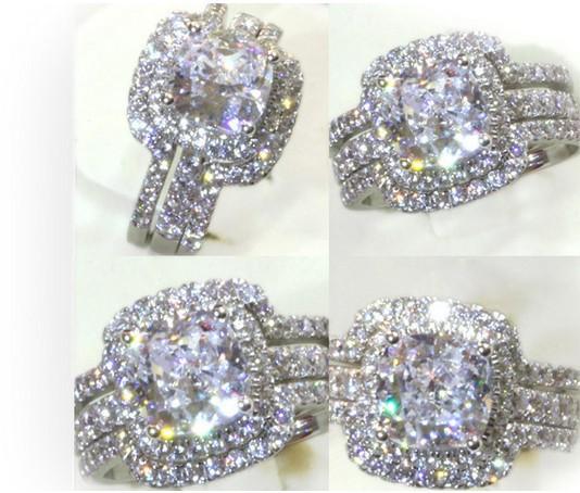 3 Ct Wedding Ring Sets