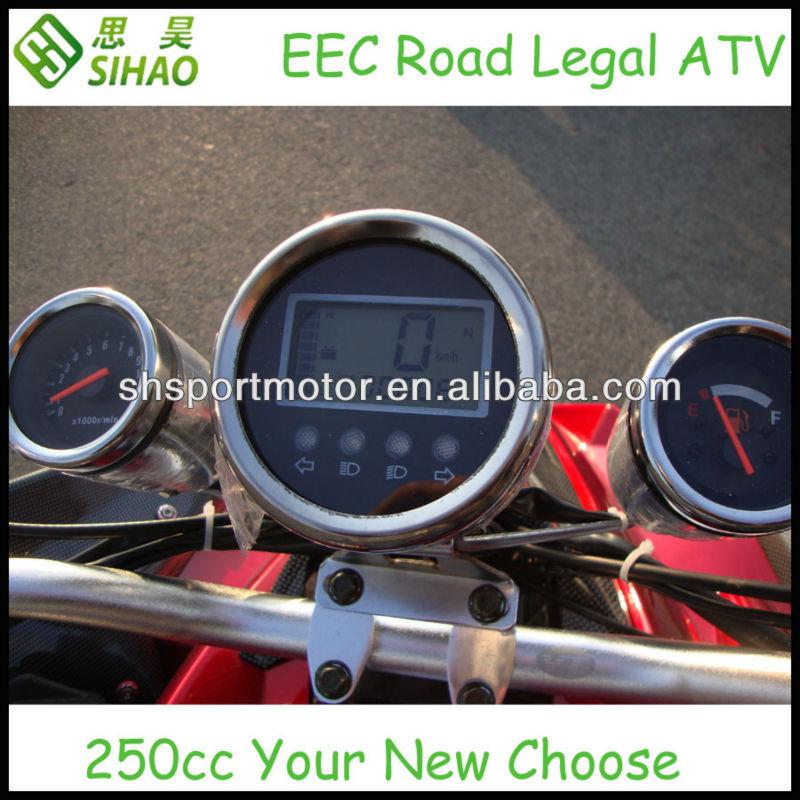 PETROL ATV 250ccm QUAD 2013 NEW STYLE WITH EEC