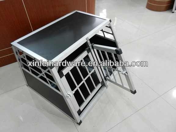 factory 2013 new high quality durable water proof aluminium flat roof dog house