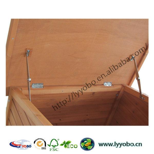 Hot Sale Wooden Dog House A-frame Pet Kennel Design YB-D2116