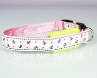 New Product!!The anchor series LED  Dog Collar TZ-PET3200 Flashing Dog Collar.MOQ 5 Pcs.Free shipping!!