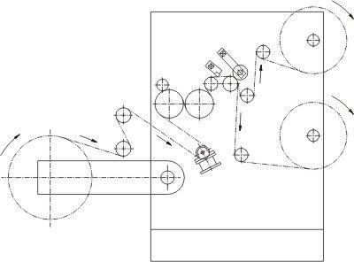 WFQ Series Horizontal Type Computer Slip-separating Machine