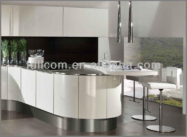 Mdf pintado de alto brillo losa mueble cocina puertas cocinas ...