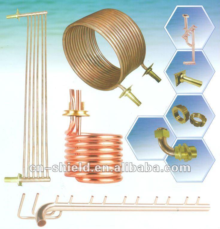 rame ottone raccordi per tubi di riscaldamento centrale ad acqua sistema-accessori di ...