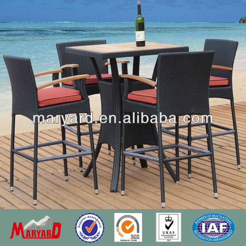 kebun rotan bar furniture jati meja dan kursi bar furniture