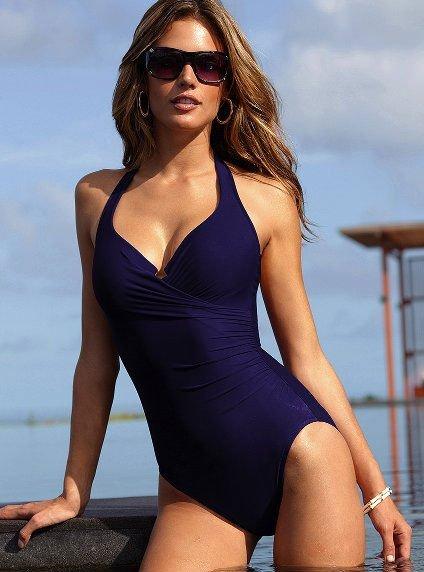 Fashion sexy ladies' design beachwear,hot sale women's one piece swimsuit.