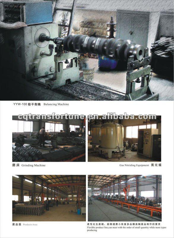Brand New Crankshaft for ISUZU 4JB1 8-94443-662-0