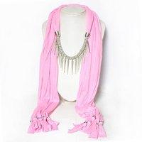 украшения шарф Топ Спайк Шарф ожерелья для женщин смешанных цветов