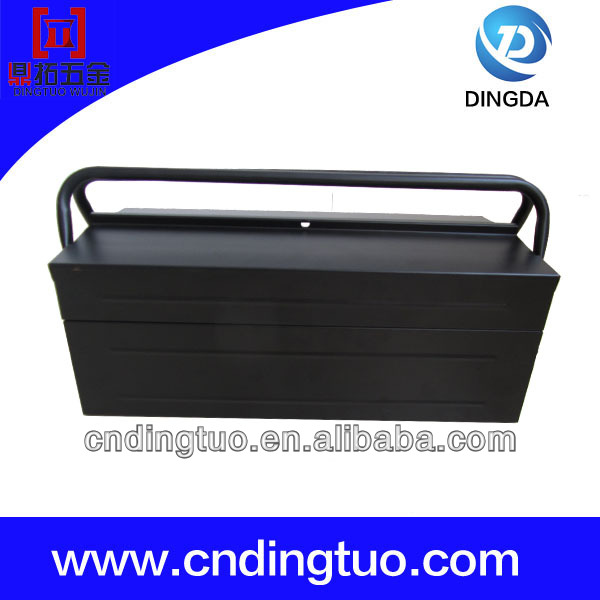 Quality and Quantity assured portable aluminum tool box