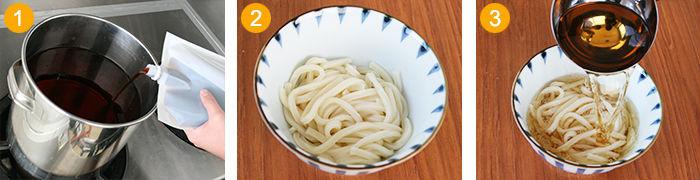 Kaori mentuyu (BD-686) dried bonito noodle soup for udon 1.8L