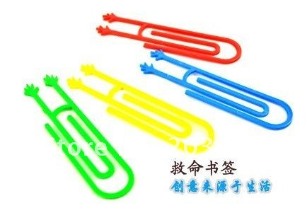 free shipping 250pair/lot beautiful Lovely creative cartoon shape bookmarks paper clip office school packed by pair