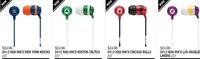 Наушники Cool earphone 30pcs/ipod MP3 MP4 * fashional * 6colors * basketball headsets