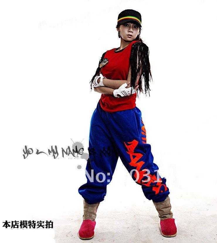 Hip Hop Dance Group Outfits Hip Hop Wear Pant Dance