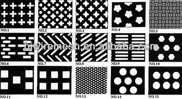 Aluminum Perforated sheet / Decorative Aluminum Perforated metal sheet