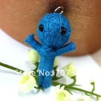 Продажа 33 шт voodoo doll/вуду мобильных кулон/дети игрушки