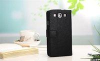 Чехол для для мобильных телефонов Leather trend purse case for Samsung I9300 Galaxy S3 wallet pouch cover with card slot magnetic