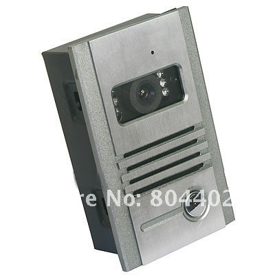 Brand New 7inch TFT 16:9 Display Wired Color Video Doorphone Systems.Free Shipping
