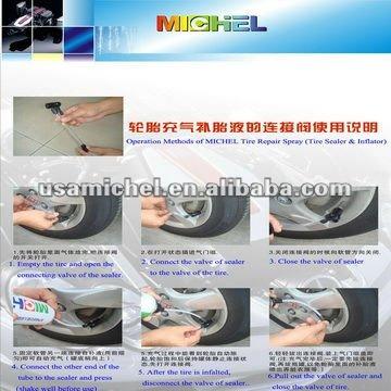 Full Rang of Tyre Sealant,Tyre Sealer and Infaltor