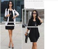 Продаем женщин мода лето шифон длинное платье розничная/л