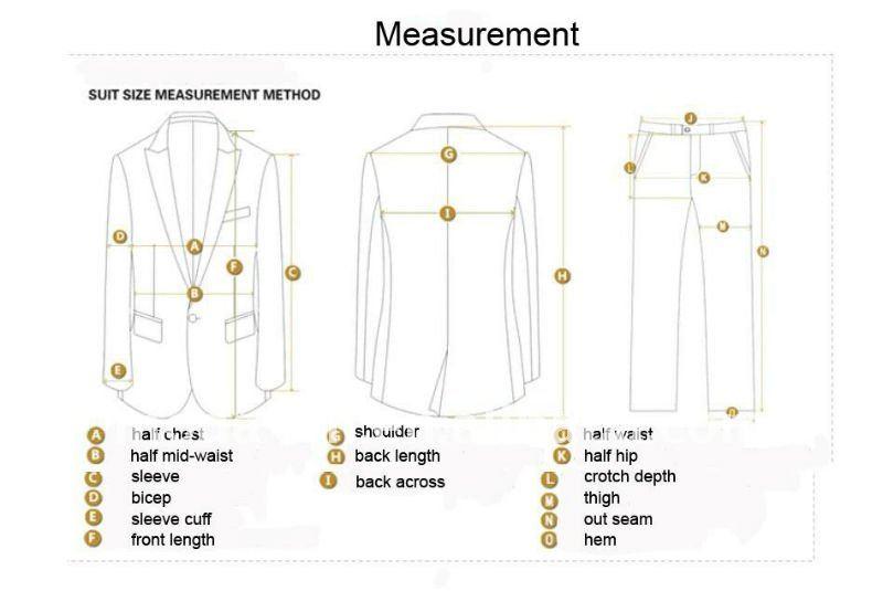 traje de cliente delgado con el patrón-Trajes y Esmóquines