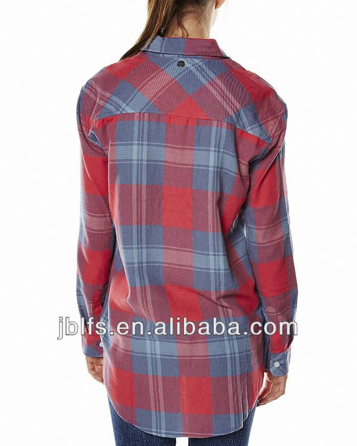 เสื้อลายสก๊อตสำหรับผู้หญิง2014