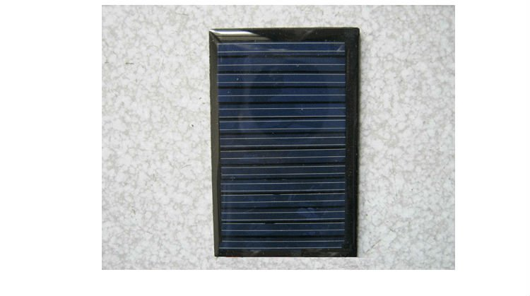 mini solar panels 7V 40mA 0.28W power led lights battery