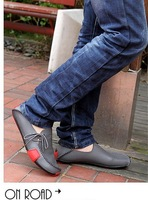 Free Shipping  New single shoes daily leisure business shoes monolayer breathable ultra-soft leather men shoes fashion