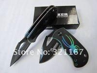 5pcs/лот Бокер охотничий нож полые Фантом цветная паук складной карманный нож кемпинг открытый нож