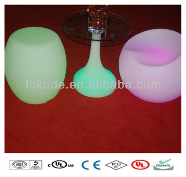 LED Table Top Salad Bar, Plastic LED Bar Tables, lighted moreden bar furniture