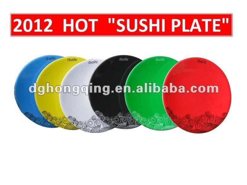 2012 HOT SALE melamine sushi plate & melamine sushi dish & sushi plate