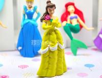 Фигурка героя мультфильма Other 1 1Set = 6 2' Tinkerbell princess figure