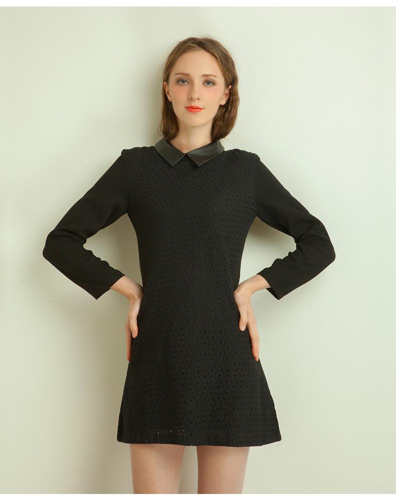 Нарядный воротник на платье