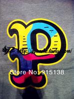 Мужская футболка 2013 Pink dolphin mishka couple hip-hop short sleeve knitted skateboard T shirts Tee for man cotton West Coast