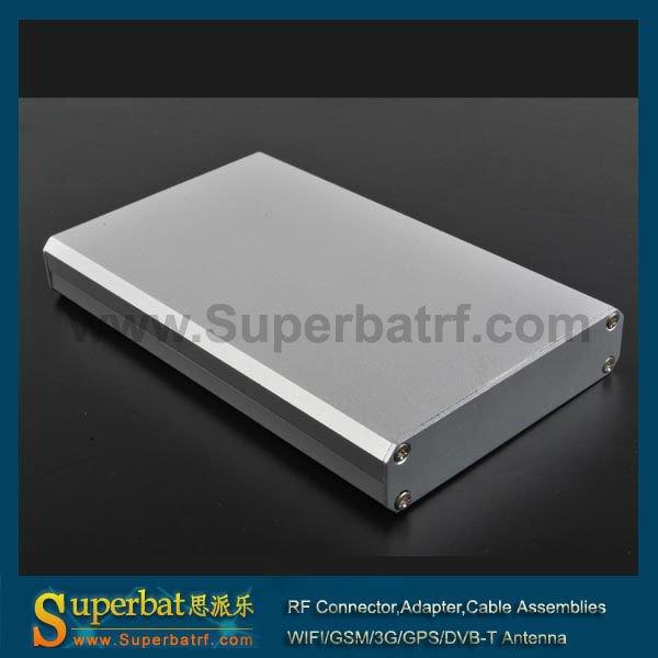 """aluminum enclosure box Case -4.33""""*2.60""""*0.63""""(L*W*H) custom aluminum boxes"""