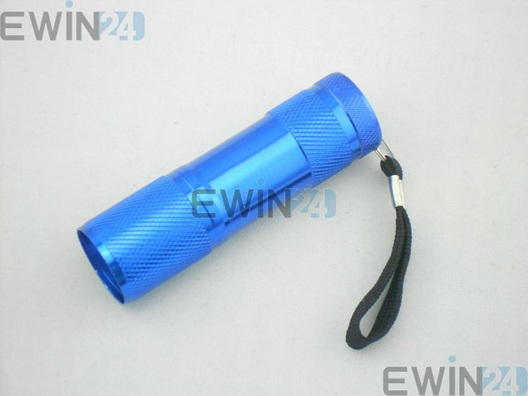Super Bright 9 LED Mini Flashlight Torch Flash Light High quality New (3)