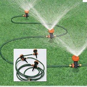 Jardim irriga o por aspers o outros produtos de rega e for Aspersores para jardin automaticos