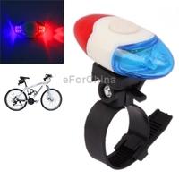 новые 4 водить красные и синие огни предупреждения высокой яркости и задний фонарь велосипед