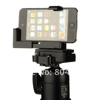 Держатель для мобильных телефонов C-shaped retractable/adjustable Universal Bracket Adapter Mount For Tripod iPhone 4 3GS, Mobile Phone Stand Black