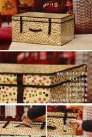 Коробка для хранения Clothes Storage Box Finishing Box Covered Storage Bins Toy Box 40*30*25cm 2E07A004