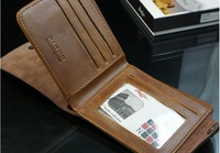 Кошелек hot sale man leather wallet, leather wallet man, man leather purse, 1pce, quality guarantee, TB-022