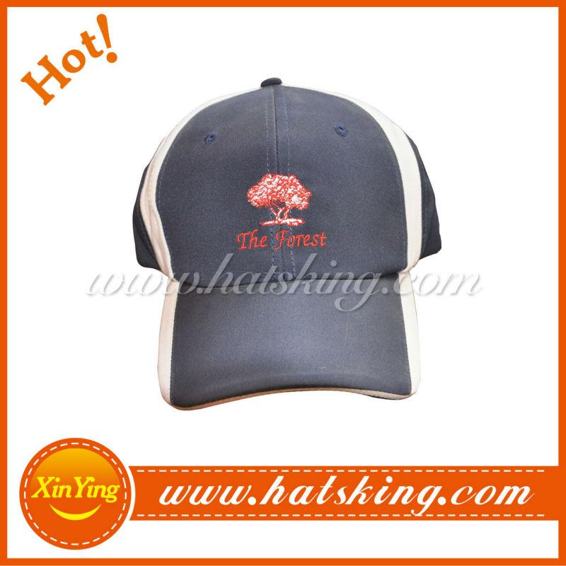 Custom embroidery logo sport caps china