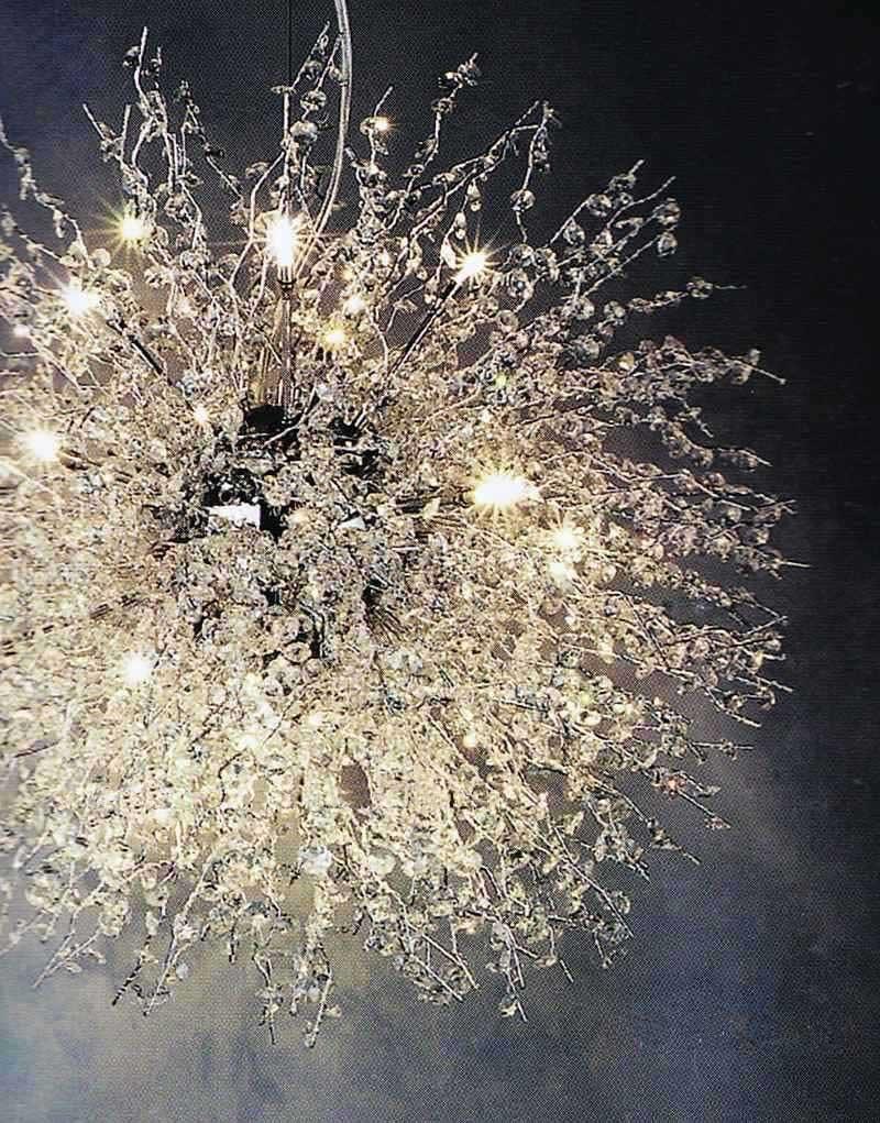 Hot Sale New Pendant Light Aluminum Dream Art Lamp Crystal