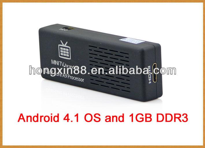 Cheapest MK808 MINI PC hdmi android smart tv dongle stick