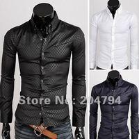 Мужская повседневная рубашка C100 100 Slim Fit ,  Szie XS, S, M, l