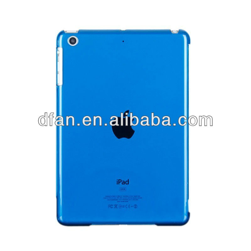 Ultra Thin Crystal Clear Back Case for iPad Mini Compatible with Smart Cover