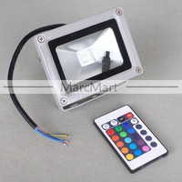 Прожектор Waterproof 10W 1000LM Remote Control RGB 15 Color Changing Flood Light #HK285